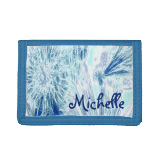Blue Ice Trifold Wallets