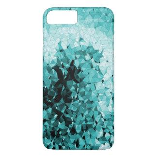 Blue Ice Winter Mosaic iPhone 8 Plus/7 Plus Case