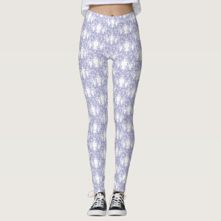 Blue Ice Wonderland ~ Leggings