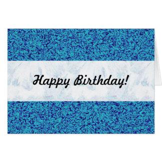 Blue Impressionism Card