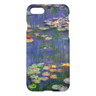 Blue Impressionist Monet Water Lilies iPhone 8/7 Case