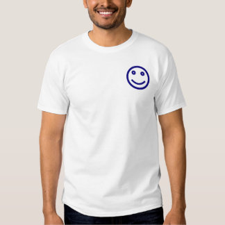 Blue in a Red State Smiley Tee