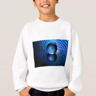 Blue in the crystal ball sweatshirt