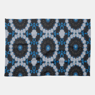 Blue in the morning and night kitchen towel