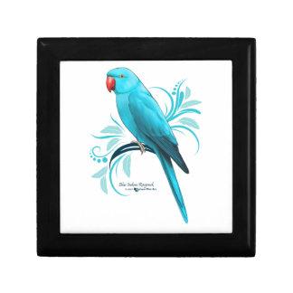 Blue Indian Ringneck Parrot Gift Box