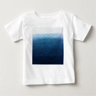 Blue Indigo Ombre Fade. Japanese Art! Baby T-Shirt