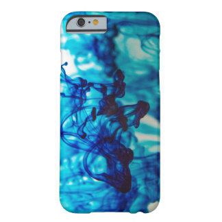 Blue Ink Barely There iPhone 6 Case