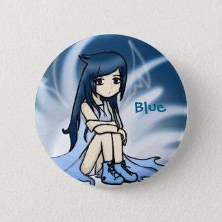 Blue Innocence 2 Inch Round Button