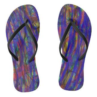 Blue Intensity Flip Flops