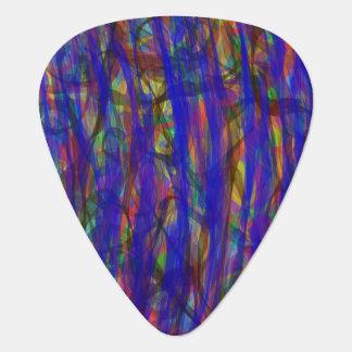 Blue Intensity Guitar Pick