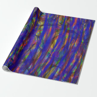 Blue Intensity Wrapping Paper
