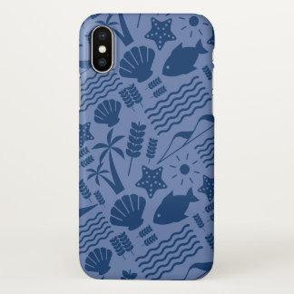 Blue Iphone layer Sea Nature iPhone X Case