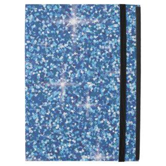 """Blue iridescent glitter iPad pro 12.9"""" case"""