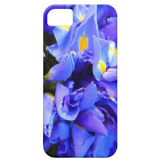 Blue Iris Apophysis Flower Design iPhone 5 Cover