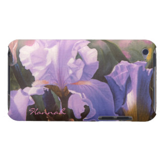 Blue Iris iPod Touch 4G Barely There Case