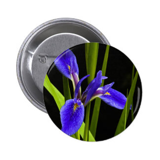 Blue Iris Pin