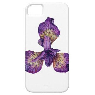 Blue Iris Siberica Flower iPhone 5 Covers