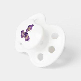 Blue Iris Siberica Flower Pacifier