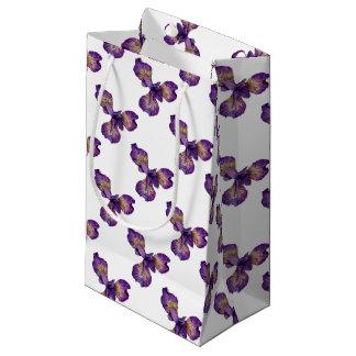 Blue Iris Siberica Flower Small Gift Bag