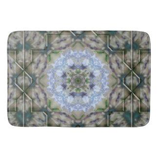Blue Iris Star Bath Mat