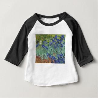Blue Irises Baby T-Shirt