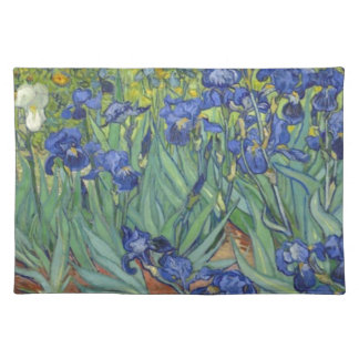 Blue Irises Placemat