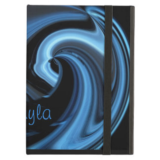 Blue Island Wave Powis iPad Case *Personalize*