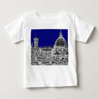 Blue Italian cathedral T-shirts