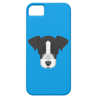 Blue Jack Russell Terrier iPhone 5 Cover
