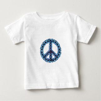 Blue Jagged Peace Apparel T-shirt