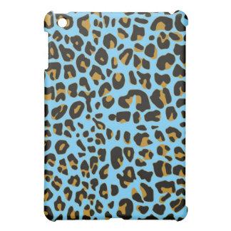 Blue Jaguar fur ipad case