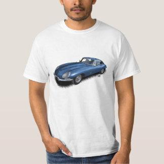 Blue Jaguar XKE Vintage Sports Car T-Shirt