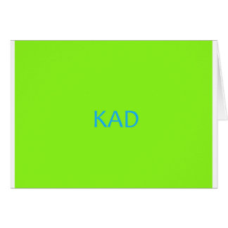 BLUE JAM CARD