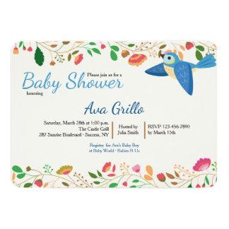 Blue Jay Bird Invitation