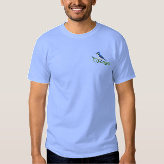 Blue Jay Embroidered T-Shirt