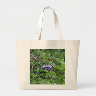 Blue Jay Large Tote Bag