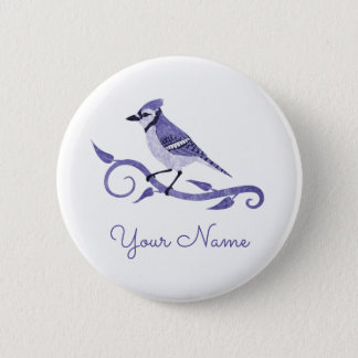 Blue Jay Name Button