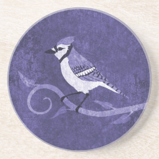Blue Jay Sandstone Coaster