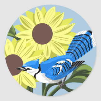 Blue Jay Stickers