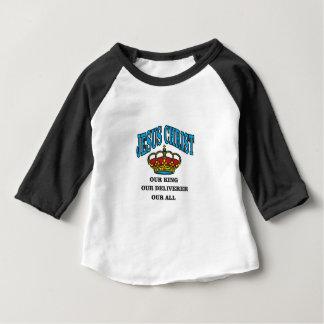 blue jc king deliverer all baby T-Shirt