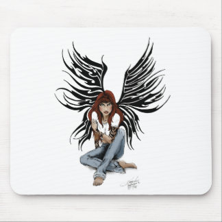 Blue Jean Angel Mouse Pad