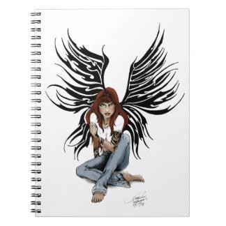 Blue Jean Angel Note Book