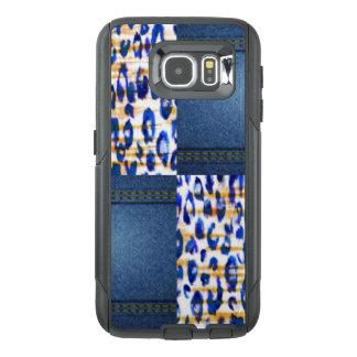 Blue Jean Animal Pattern Print Design