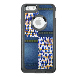 Blue Jean Animal Pattern Print Design OtterBox iPhone 6/6s Case