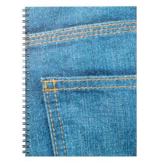 Blue Jeans Back Pocket Notebook