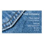 """Blue jeans"" business card"
