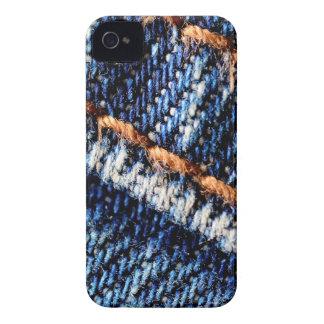 Blue jeans closeup texture. Case-Mate iPhone 4 cases