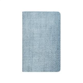 Blue Jeans Denim Look Faux Texture Photo Journal