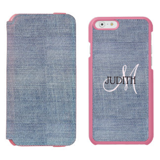 Blue Jeans Patter Incipio  iPhone 6/6s Wallet Case Incipio Watson™ iPhone 6 Wallet Case