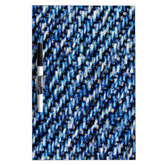 Blue jeans texture dry erase board
